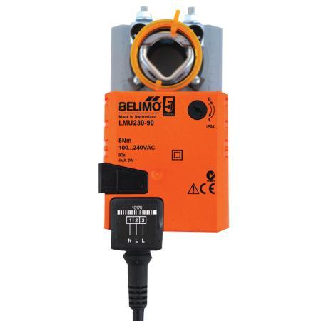 Zone motor belimo national air parts for Zone damper motor repair